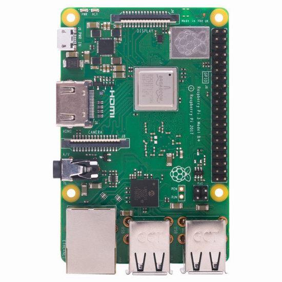 近史低价!RS Components Raspberry Pi 树莓派3 Model B+ 主机板 49.99加元包邮!