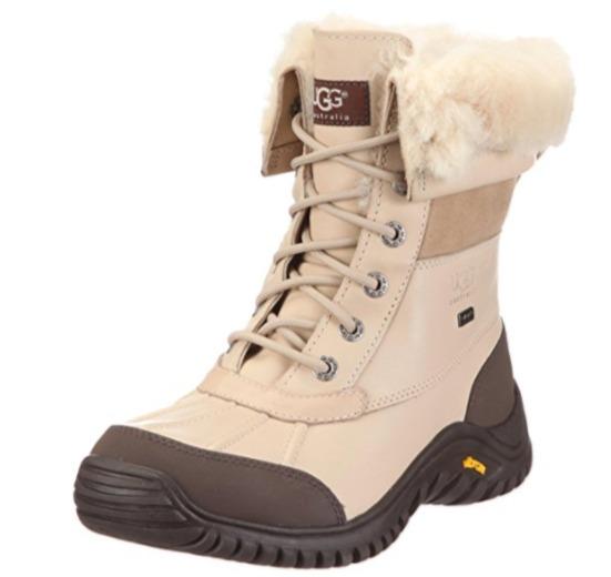 UGG Adirondack II 严寒系列 女士系带真皮短靴(8.5码)4.8折 142.34加元包邮!