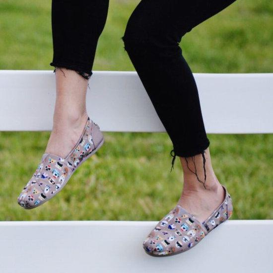 Skechers BOBS PLUSH-Pup 猫狗慈善系列 女式一脚蹬帆布鞋 38.99加元包邮!18色可选!