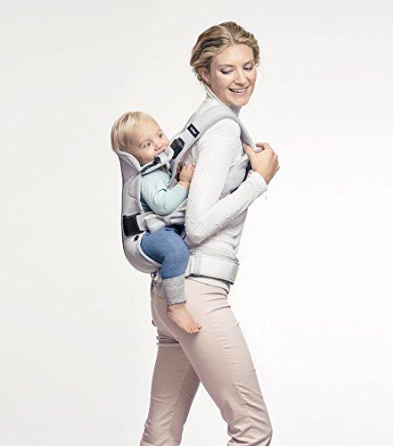 历史新低!BabyBjorn Baby Carrier One 银色超舒适 专业婴儿背带5.8折 175加元包邮!