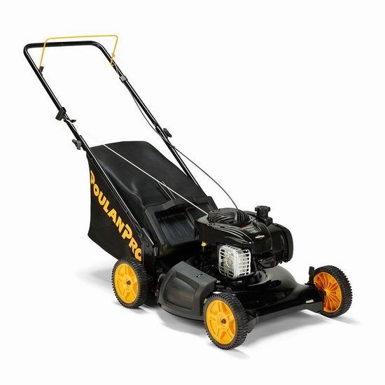 黑五专享:历史最低价!Poulan Pro PR550N21R3 140cc 21英寸 三合一 汽油割草机3.3折 178加元包邮!