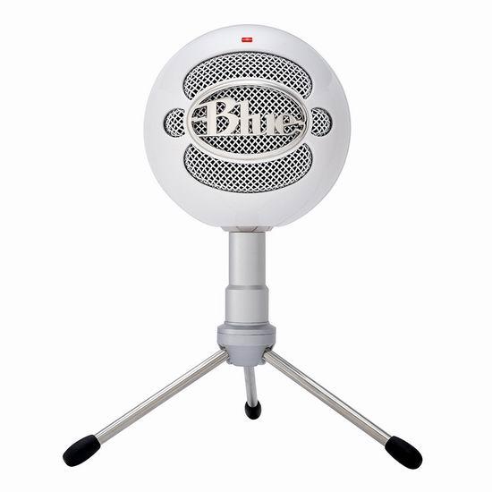 Blue Microphones Snowball iCE 小雪球 专业USB电容麦克风5.3折 49.99加元包邮!