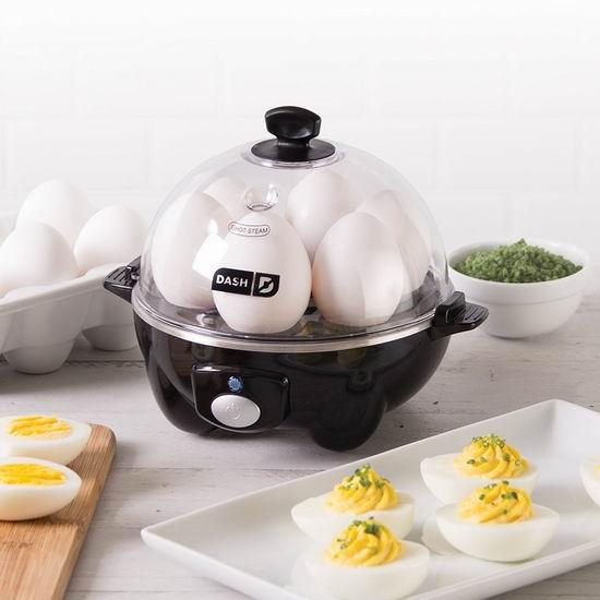 历史最低价!Dash 多功能快速煮蛋器5.2折 22.4加元!