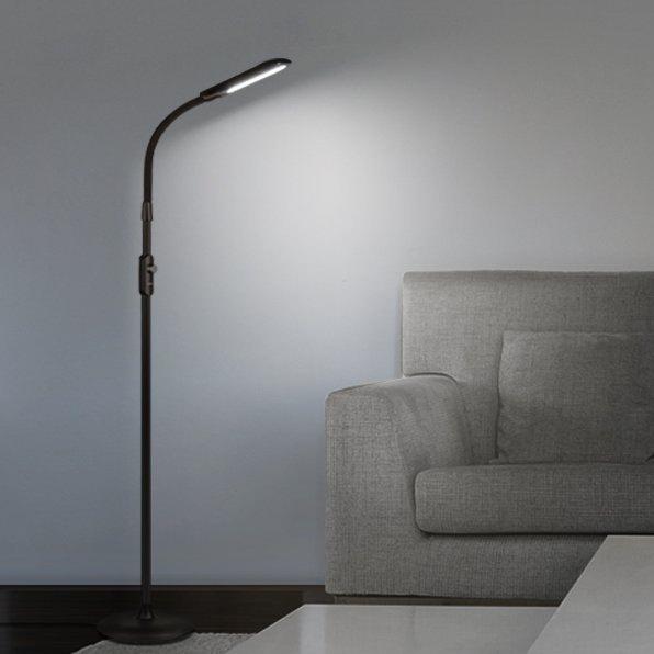 AUKEY 12W LED 落地式护眼灯 63.99加元限量特卖并包邮!