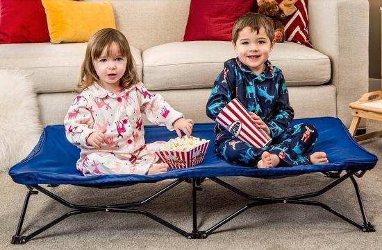 销量冠军!Regalo Baby My Cot 便携式 儿童睡床/露营床 37.47加元包邮!两色可选!