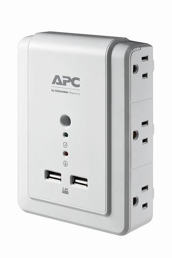 历史新低!APC P6WU2 迷你2口USB充电+6口插座4.9折 13.46加元!