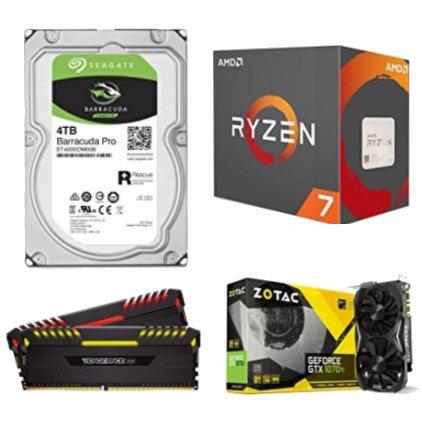 金盒头条:精选 AMD、ZOTAC、WD、Seagate、Corsair 品牌CPU处理器、内存、硬盘、移动硬盘、云储存硬盘、显卡等6.4折起!