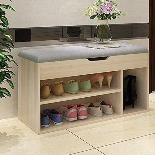 Soges M018-GZ-CA 多用途鞋架储物凳5.4折 59加元限量特卖并包邮!