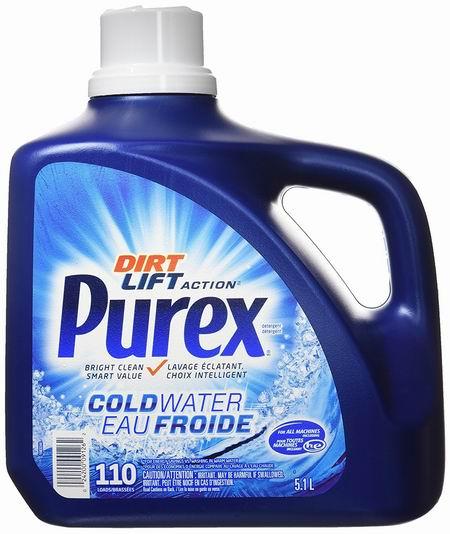 Purex After the Rain 5.1升110缸 浓缩洗衣液5.7折 8.52加元!