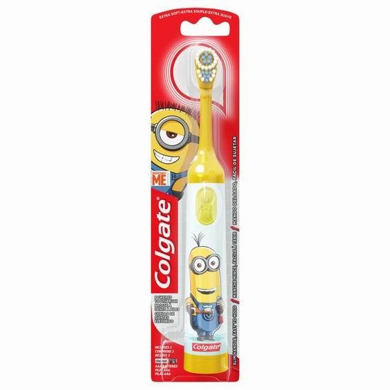 历史新低!Colgate高露洁超软儿童电动牙刷3.9折 3.75加元起!4色可选!