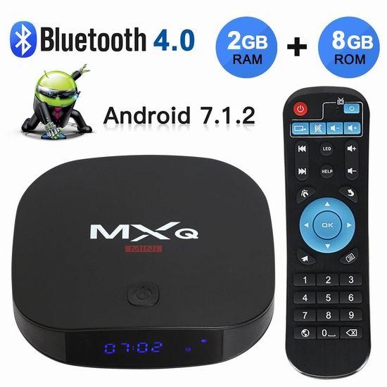 Kingbox MXQ 网络电视机顶盒(2GB/8GB) 39.09加元包邮!