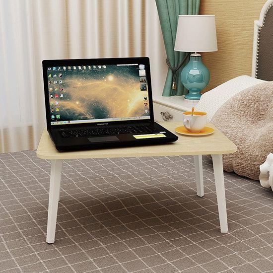Homebi 可折叠笔记本电脑桌/床上托架/早餐桌4.7折 13.59加元限量特卖!