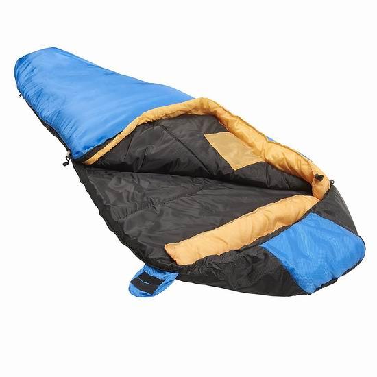 历史新低!Suisse Sport Adventurer 户外保暖睡袋3.9折 25.51加元!