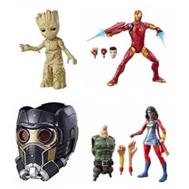 金盒头条:精选 Hasbro Marvel 漫威系列玩具、人偶、面具等2折起特卖!