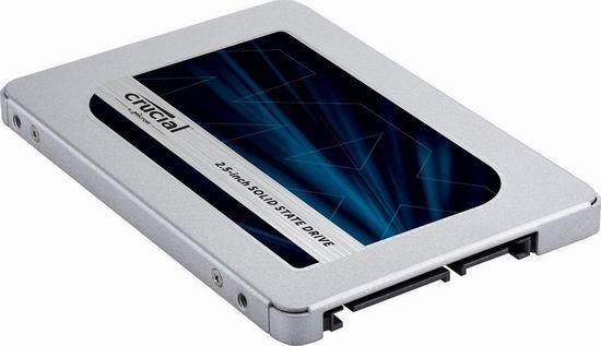 历史新低!Crucial 英睿达 MX500 1TB 3D NAND SATA 2.5英寸固态硬盘 184.99加元包邮!