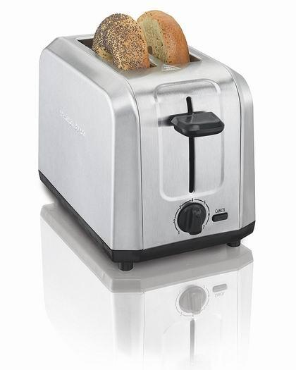 白菜速抢!历史新低!Hamilton Beach 22910 不锈钢烤面包机 10加元包邮!会员专享!