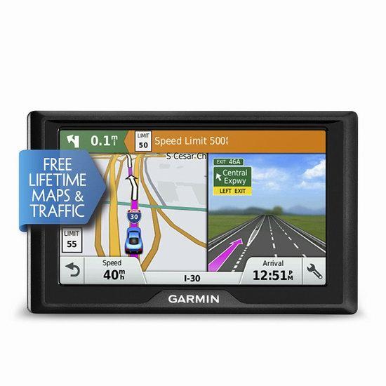 销量冠军!Garmin 佳明 Drive 50LMT 5英寸 车载GPS导航仪 159.99加元包邮!