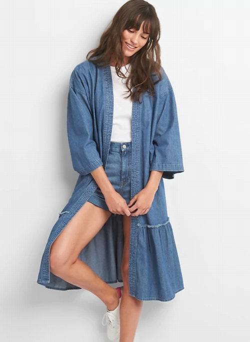 Gap精选牛仔裤、牛仔夹克、连衣裙、T恤 5折起+额外6折