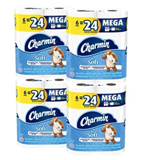 Charmin Ultra Strong 超强双层卫生纸24卷 22.75加元,原价 34.99加元