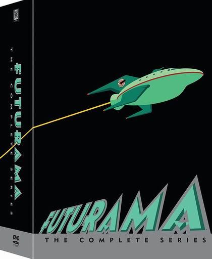 历史新低!《Futurama 飞出个未来 1-8季》DVD全集2.5折 29.97加元!