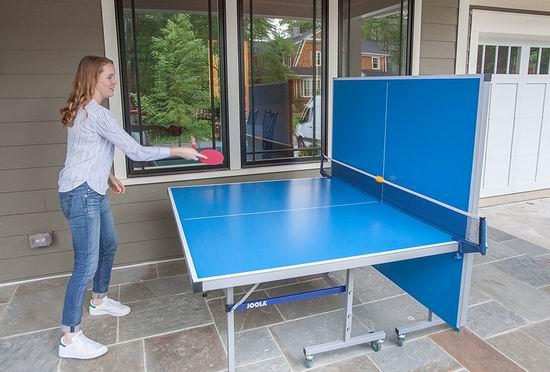 历史新低!JOOLA 德国优拉 Nova DX 室内/室外两用 乒乓球桌4.6折 499加元包邮!