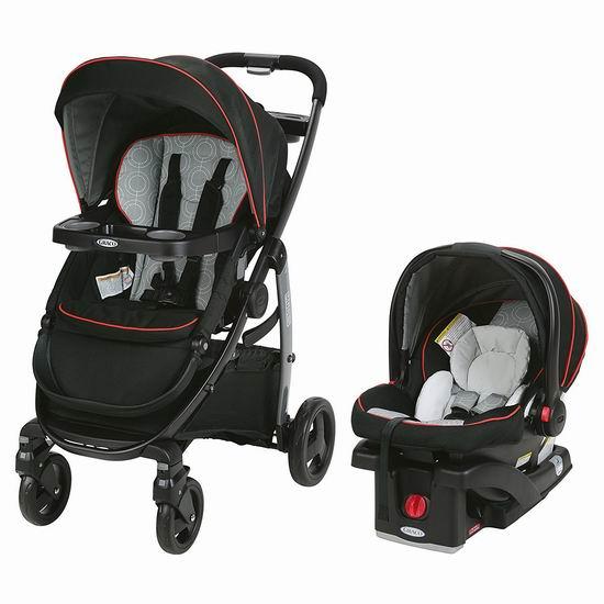近史低价!Graco Modes 三合一 成长型双向婴儿推车+婴儿提篮5.6折 380.99加元包邮!