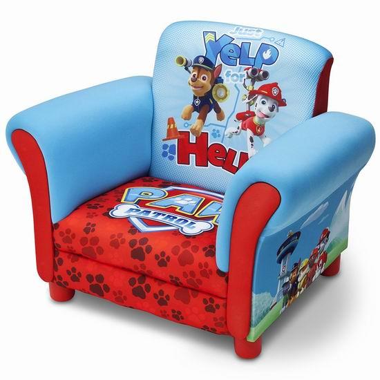 历史最低价!Nick Jr. 狗狗巡逻队 儿童单人软垫沙发 69.97加元包邮!会员专享!
