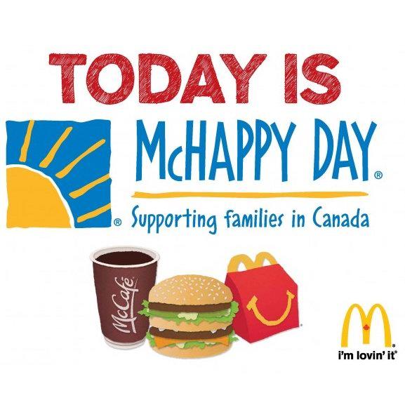 McDonald's 麦当劳 McHappy Day 爱心童乐日,仅限5月2日!