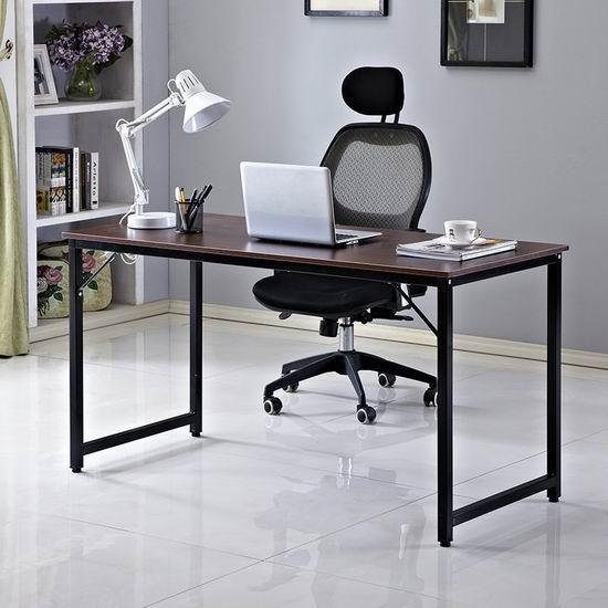 历史新低!Soges 55英寸时尚书桌/电脑桌4.6折 59加元包邮!3色可选!
