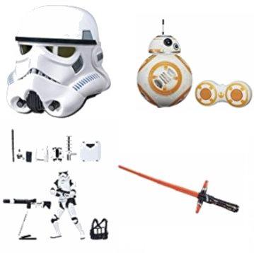 金盒头条:精选32款 Hasbro 孩之宝 Star Wars 星球大战系列玩具3.8折起!