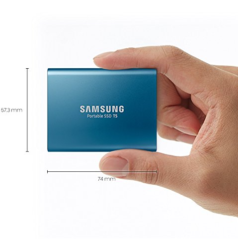 历史新低!Samsung 三星 T5 500GB 超便携SSD固态硬盘 99.99加元包邮!比Prime Day还便宜10加元!