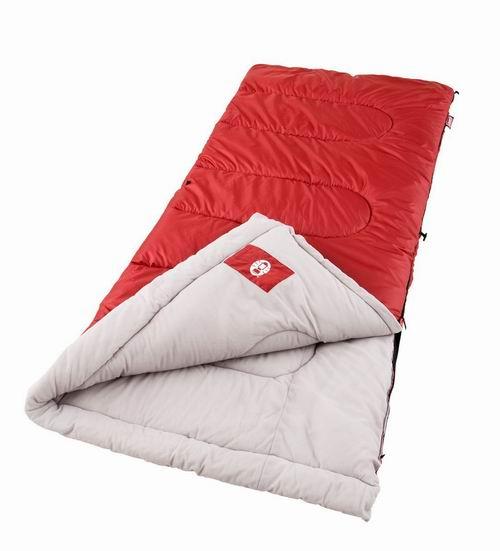 黑五专享:Coleman Palmetto 三季保暖睡袋5.6折 27.99加元!