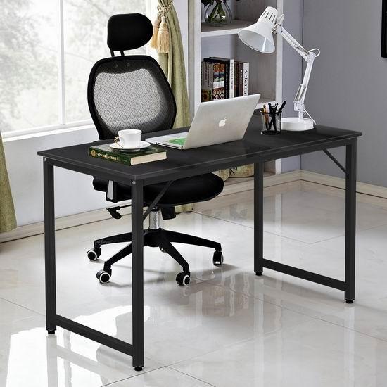 历史新低!Soges JJ-T-120-CA 47英寸 时尚书桌/电脑桌4.6折 49加元包邮!2色可选!