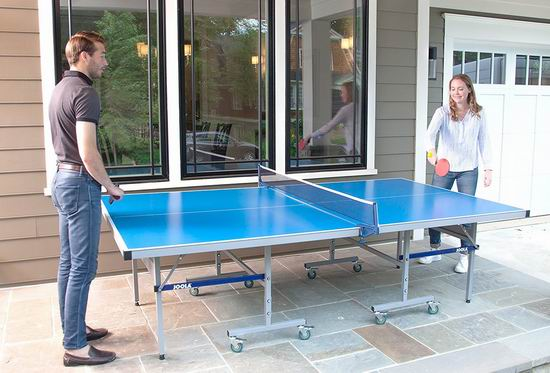 历史新低!JOOLA 德国优拉 Nova DX 室内/室外两用 乒乓球桌4.2折 455.02加元包邮!