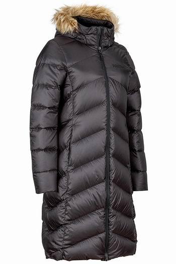 白菜价!Marmot 土拨鼠 Montreaux 女式长款羽绒服3折 97.5加元起包邮!3色可选!