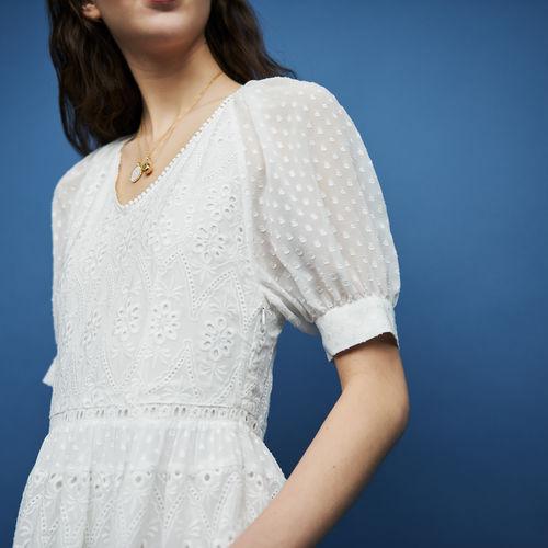 入法式浪漫美衣!Maje蕾丝褶皱连衣裙/短裙/上衣 5折 85加元起特卖!