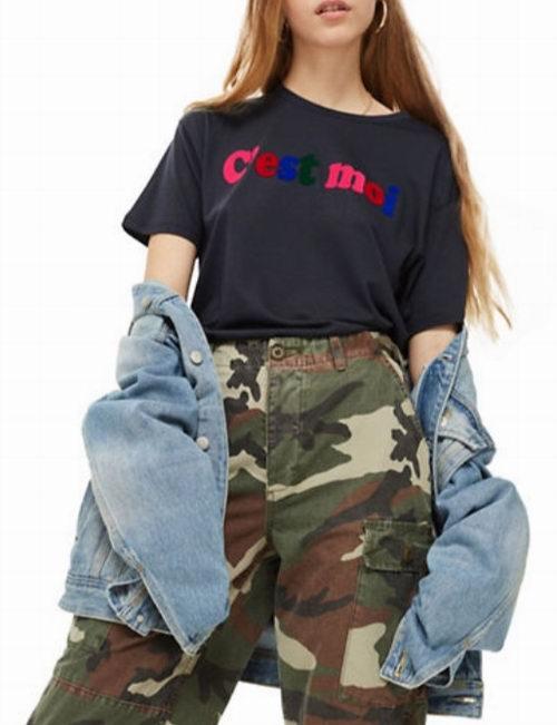 Topshop 季末清仓 5折优惠!入酷酷的打底衫、帅气有型的风衣、牛仔裤、阔腿裤、超美的连衣裙!