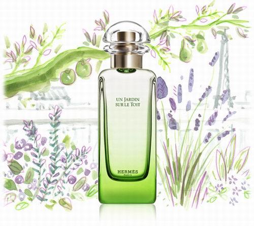 Hermes 爱马仕 Un Jardin 空中屋顶花园香水 87.59加元(50ml),Sephora 同款价 120加元