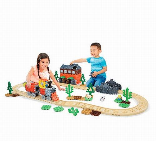 史低价!Little Tikes 643132 华夫豪华蒸汽火车积木玩具2.9折 22.84加元!
