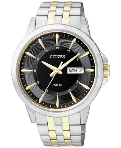 Citizen 西铁城 BF2018-52E 男士腕表 87.61加元,The Bay同款打折价 146.25加元