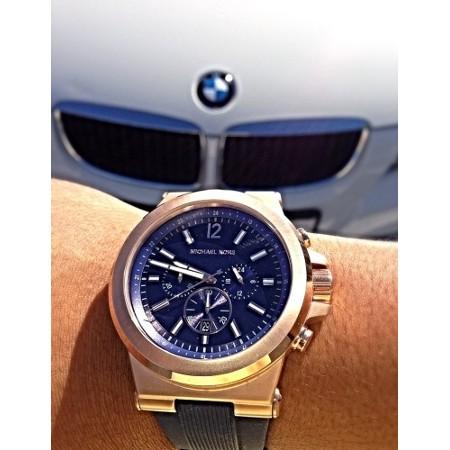 历史新低!Michael Kors MK8295 玫瑰金 三眼计时 男士腕表/手表6折 150.48加元包邮!