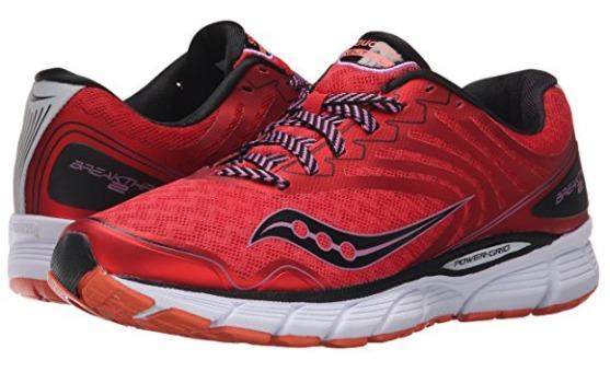 Saucony Breakthru 2 女式跑步鞋(6.5码)4.5折 63.59加元清仓!