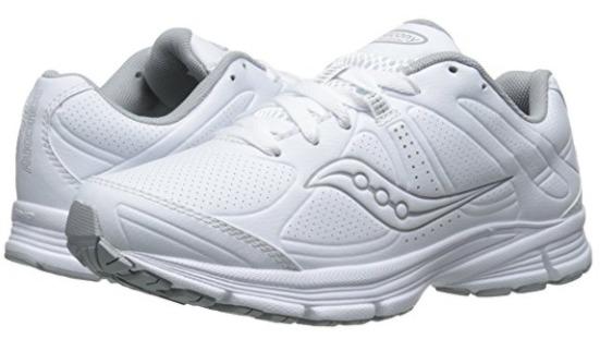 白菜价!Saucony Grid Momentum 女式小白鞋(5.5码)2.2折 24.73加元清仓!