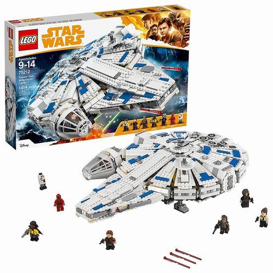 Lego 乐高 75212 星球大战系列 神速千年隼(1414pcs)7.7折 154.98加元包邮!