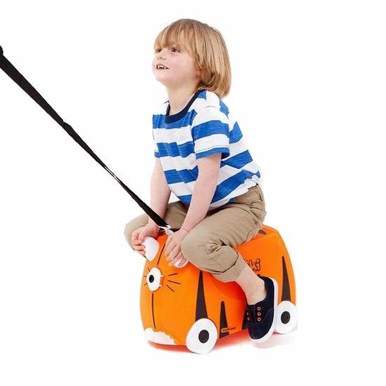 历史新低!Trunki 超可爱虎宝宝 儿童座椅式卡通旅行箱/行李箱 48.96加元包邮!