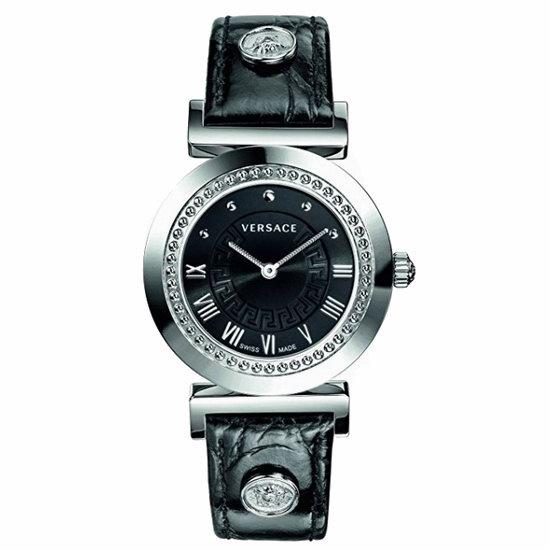 历史新低!Versace 范思哲 P5Q99D009 S009 Vanity 女士腕表/手表3.7折 481.55加元包邮!