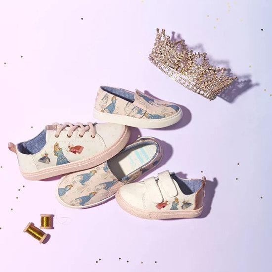 收母女款Disney梦幻公主鞋、兔子鞋!Toms 休闲鞋靴5折起优惠!