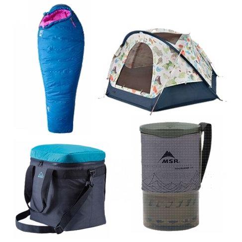 Marmot、The North Face、Mountain Hardwear 夏日清仓!精选帐篷、睡袋、睡垫、户外厨具、水杯等5折起+额外9折!