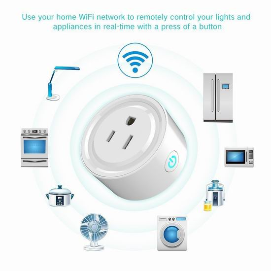 白菜价!MiniInTheBox WiFi无线 智能插座5折 11.99加元!2件套22.99加元!