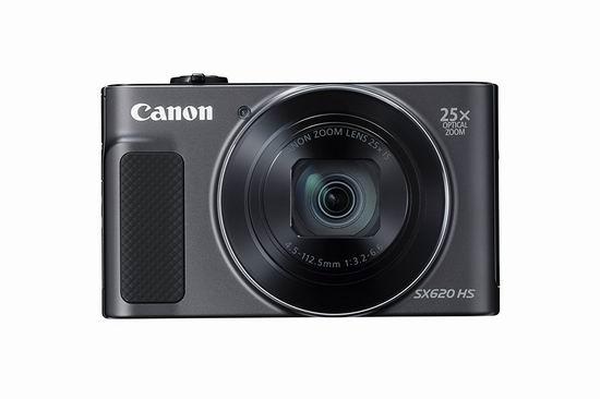 白菜速抢!历史新低!Canon 佳能 PowerShot SX620 HS 25倍变焦WiFi数码相机3.9折 161.59加元包邮!会员专享!